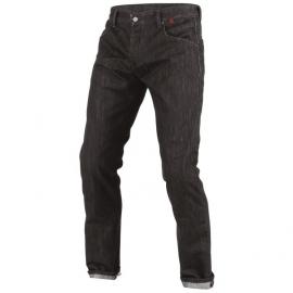 Pánské kalhoty - jeans na motorku Dainese  STROKEVILLE SLIM/REGULAR černá/kevlar