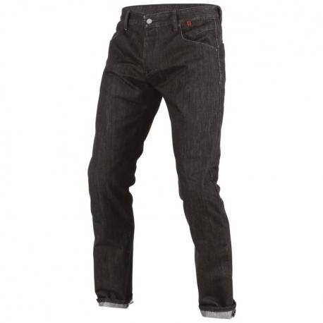 65550150d55 Pánské kalhoty - jeans na motorku Dainese STROKEVILLE SLIM REGULAR černá  kevlar