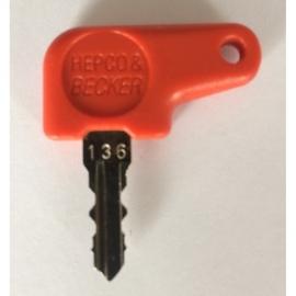 náhradní klíč HEPCOBECKER číslo 136
