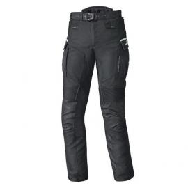 Letní enduro moto kalhoty MATATA 2 (voděodolná úprava) ve zkrácené délce, černá, textilní