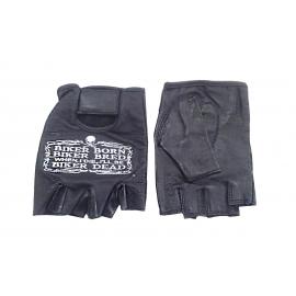 Moto rukavice Hot Leathers bezprsté, černé