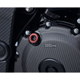 Zátka olejového filtru Suzuki červená, originál