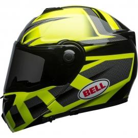 Moto helma Bell Srt Modular Predator Hi-Viz Green, Black