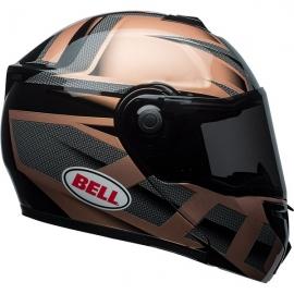 Moto helma Bell Srt Modular Predator Copper, Black
