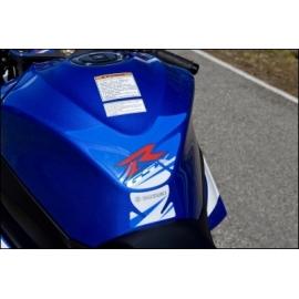 Tankpad Suzuki modrý, originál