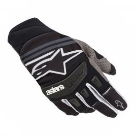 MX rukavice Alpinestars RADAR TECHSTAR černá/bílá