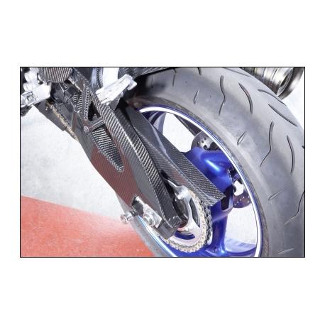 Karbonový kryt řetězu Suzuki, originál