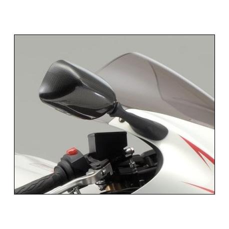 Zrcátko Suzuki karbon vzhled, originál