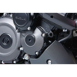 Karbonový kryt startéru Suzuki, originál