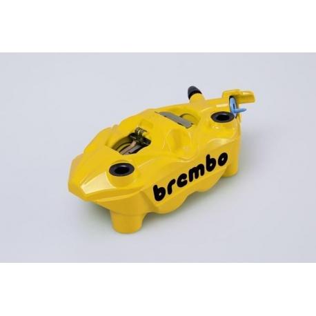 Brzdový žlutý třmen Brembo Suzuki levá strana, originál