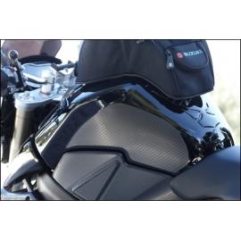 Ochranná fólie na nádrž karbon vzhled Suzuki, originál