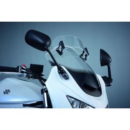 Přídavné plexi čiré na přední štít Suzuki, originál