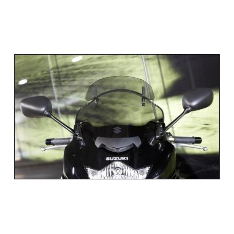 Přídavný přední plexi štít kouřový Suzuki, originál