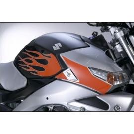 Ochranná fólie na nádrž Suzuki motiv plameny, originál