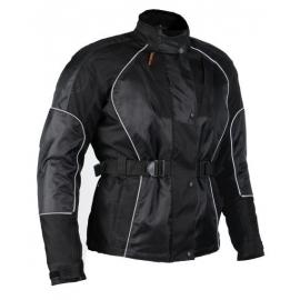 Dámská textilní moto bunda Spark Tiffany, černá