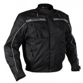 Pánská textilní moto bunda Spark Trackadvance, černá