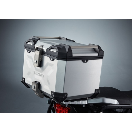 Horní kufr hliníkový Suzuki 38L, originál
