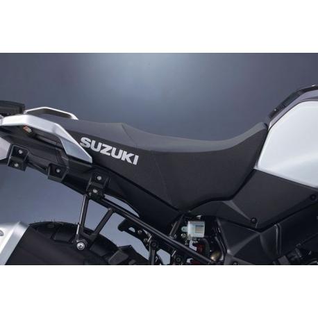 Vyšší sedlo šedo-černé Suzuki, originál