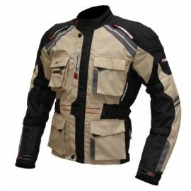 Pánská textilní moto bunda Spark Dakar, písková