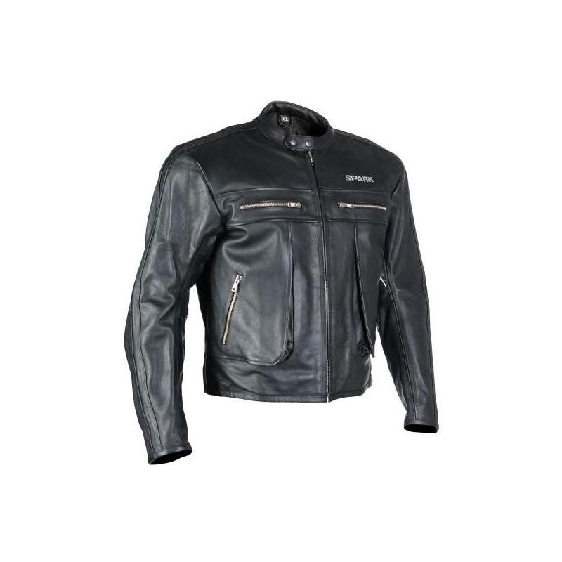 Pánská kožená moto bunda Spark Classic d205322ed63