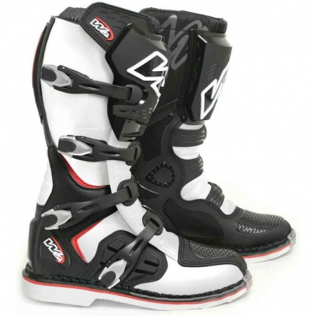 Krosové pánské moto boty W2 E-MX9, černé
