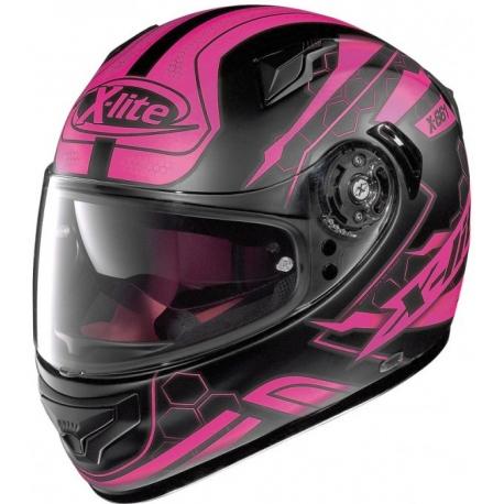 Moto helma X-Lite X-661 Honeycomb N-Com Flat Black 33