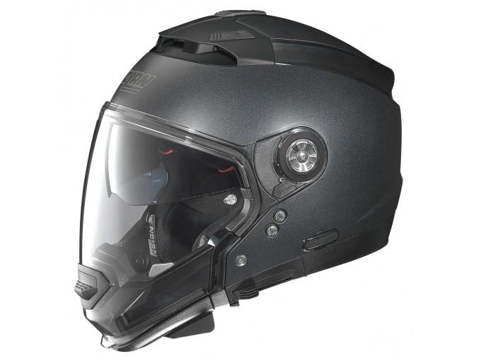 Moto helma Nolan N44 EVO SPecial N-Com Black Graphite 25