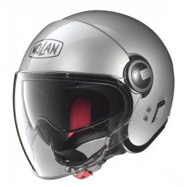 Moto helma Nolan N21 Visor Classic Platinum Silver 1