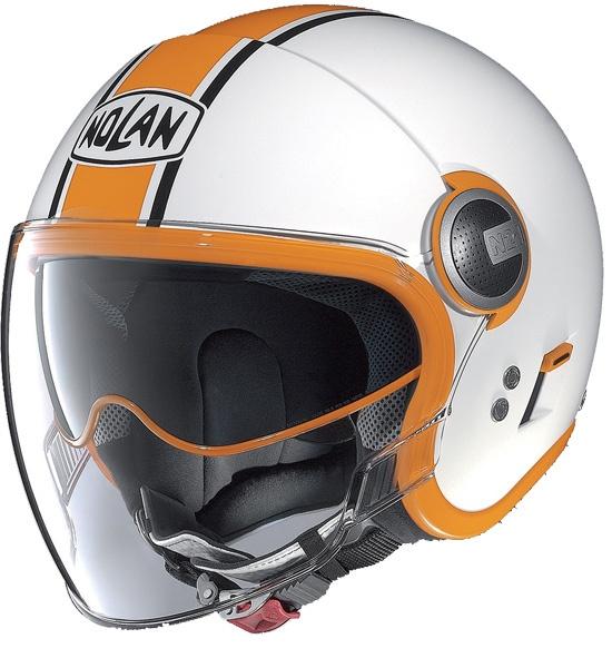 Moto helma Nolan N21 Visor Duetto Glossy White 9