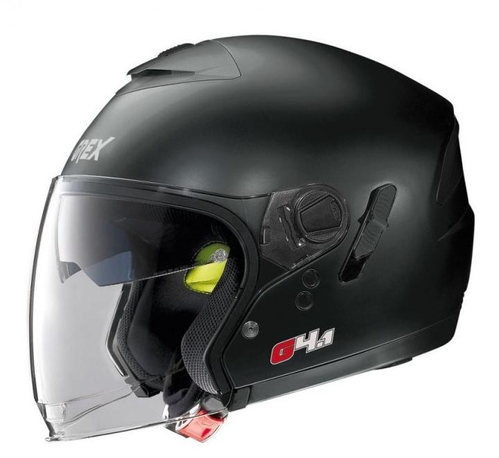 Moto helma Grex G4.1 Kinetic Flat Black 2