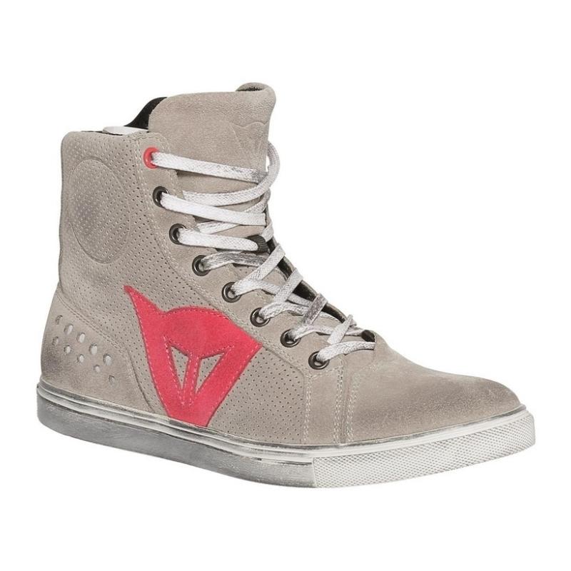 Dámské kotníkové skútr boty Dainese STREET BIKER LADY AIR šedá korálkové  logo 99e0220a8aa