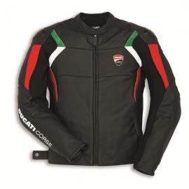 Pánská kožená bunda Ducati Corse C3 černá