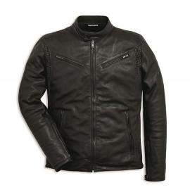 Pánská kožená bunda Ducati Soul C2 černá