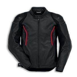 Pánská kožená bunda Ducati Stealth C2 černá