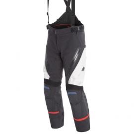 Pánské enduro moto kalhoty Dainese ANTARTICA GORE-TEX světle šedá/černá