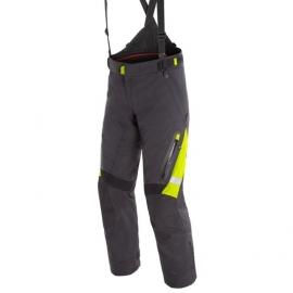 Pánské enduro moto kalhoty Dainese GRAN TURISMO GORE-TEX černá/fluo žlutá
