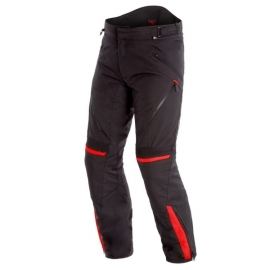 Pánské enduro moto kalhoty Dainese TEMPEST 2 D-DRY černá/červená