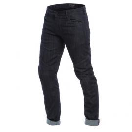 Pánské kalhoty - jeans na motorku Dainese TODI SLIM tmavý denim, aramid