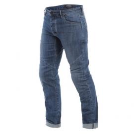 Pánské kalhoty - jeans na motorku Dainese TIVOLI  REGULAR denim/aramid