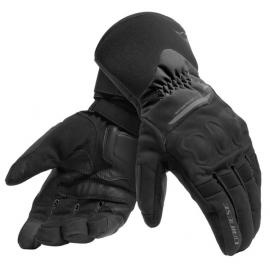 Rukavice na motorku Dainese X-TOURER D-DRY černá, textilní (pár)