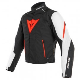6359468e3ef Pánská moto bunda Dainese LAGUNA SECA 3 D-DRY bílá fluo červená černá
