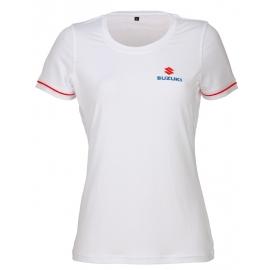 Dámské tričko Suzuki bílé