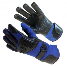 Pánské textilní moto rukavice Spark Cordmaster, modré