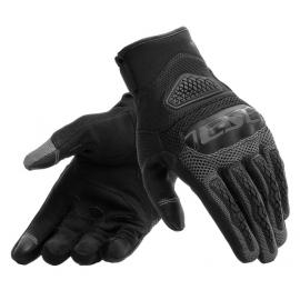 Letní moto rukavice Dainese BORA černá, textil