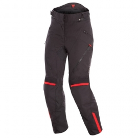 Dámské enduro moto kalhoty Dainese TEMPEST 2 LADY D-DRY černá/červená