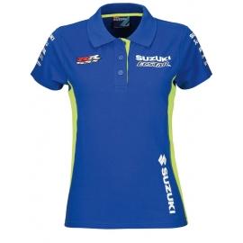 Dámská polokošile Suzuki MotoGP team, modrá