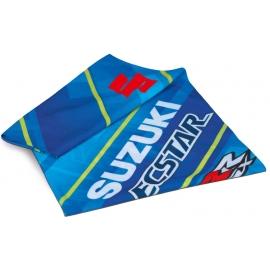 Hřejivý nákrčník Suzuki MotoGP modrý