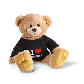 """Plyšový medvěd """"I Love Suzuki"""""""