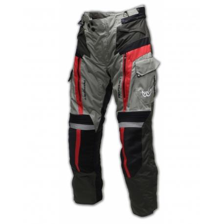 Kožené moto kalhoty Berik NP 104, černé