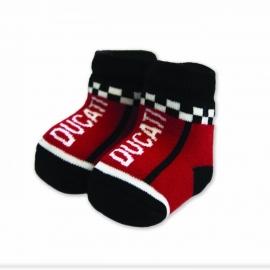 Dětské ponožky Ducati Company červené, originál